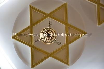 ES 1197  Ceiling, Bet El Synagogue  Ceuta, Spain