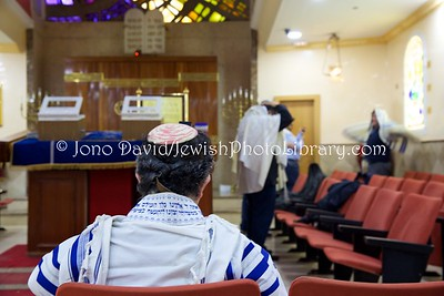 ES 1344  Shacharit (morning) service, Bet El Synagogue  Ceuta, Spain