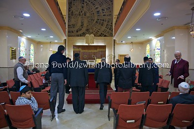 ES 1293  Ma'ariv (evening) service, Bet El Synagogue  Ceuta, Spain
