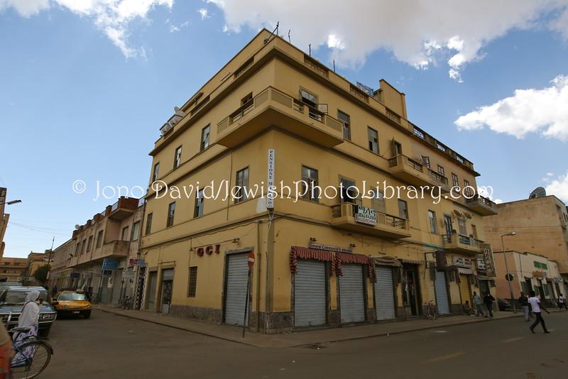 ER 229  Home (former), Shoa Menachem Joseph (now, Pension Milano)  Asmara, Eritrea