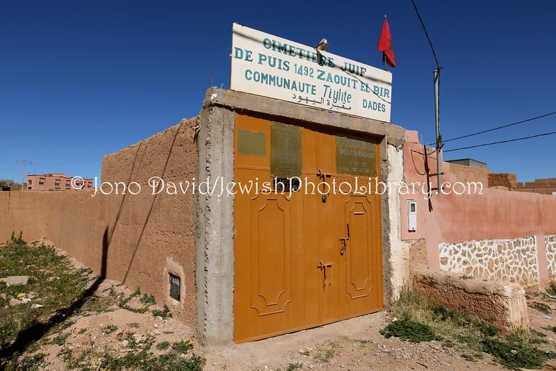 MA 945  Jewish Cemetery, Zaouit El-Bir-Dades (near Kal'at M'Gouna), Morocco