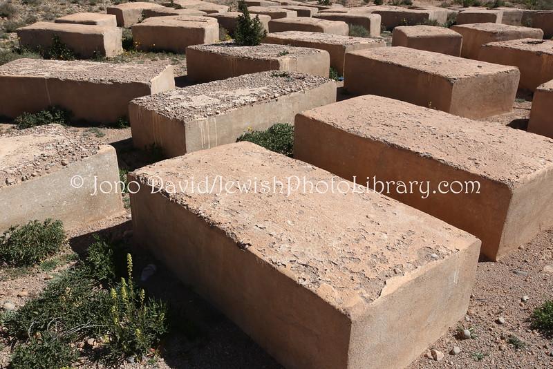 MA 1006  Jewish Cemetery, Zaouit El-Bir-Dades (near Kal'at M'Gouna), Morocco