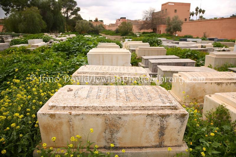 MA 2076  Jewish Cemetery  Marrakesh, Morocco