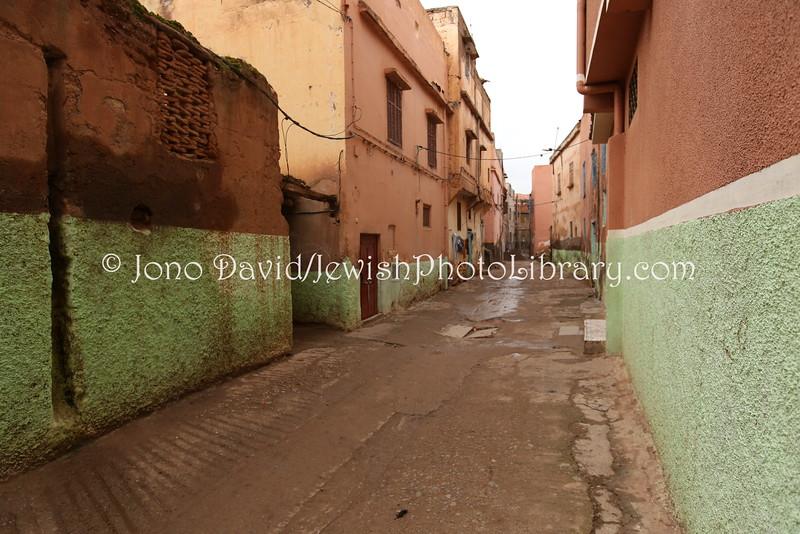 MA 1885  Mellah (former Jewish Quarter)  Demnate, Morocco
