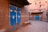 MA 871  Rabbi's house (former) (L), and synagogue (former) (R)  Ouarzazate, Morocco