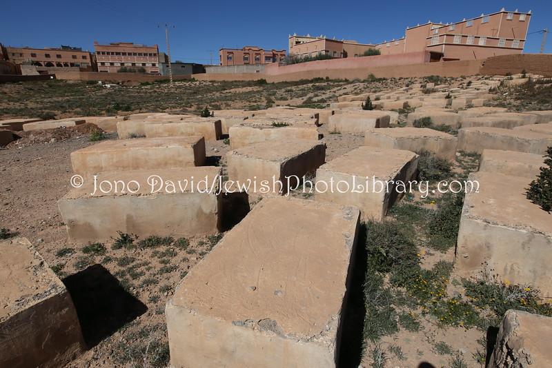 MA 996  Jewish Cemetery, Zaouit El-Bir-Dades (near Kal'at M'Gouna), Morocco