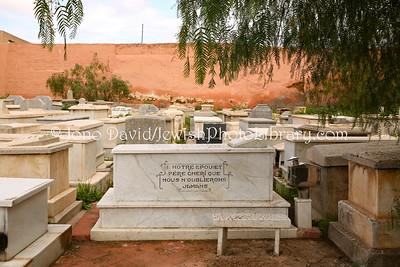 MA 2070  Jewish Cemetery  Marrakesh, Morocco