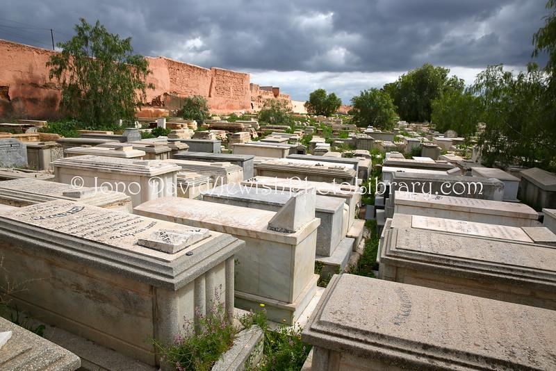 MA 2091  Jewish Cemetery  Marrakesh, Morocco