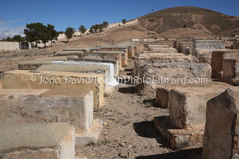 MA 1498  Jewish Cemetery, Midelt, Morocco