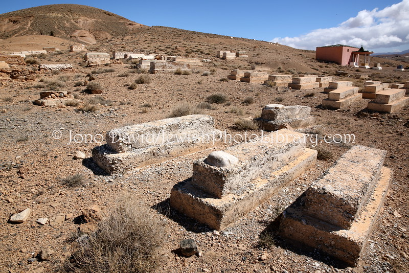 MA 1481  Jewish Cemetery, Midelt, Morocco