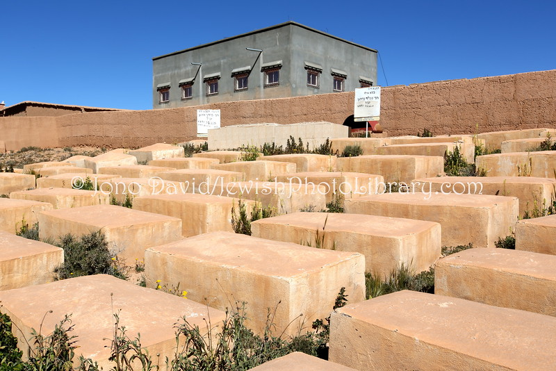 MA 968  Jewish Cemetery, Zaouit El-Bir-Dades (near Kal'at M'Gouna), Morocco