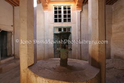 MA 1268  House of Baba Sali (Rabbi Israel Abuhatzira, in Mellah  Rissani, Morroco