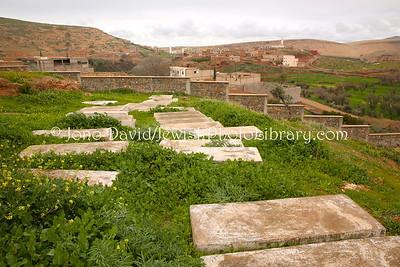 MA 1746  Jewish Cemetery  Bzou, Morocco