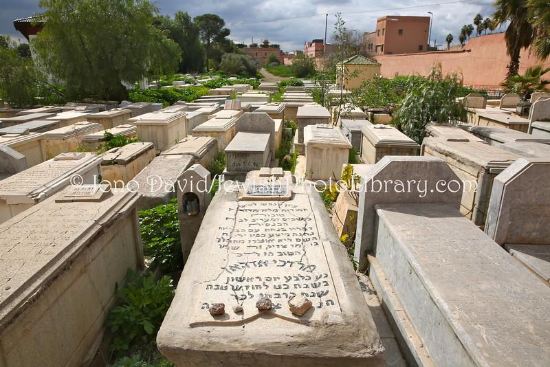 MA 2111  Jewish Cemetery  Marrakesh, Morocco