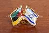 MZ 7  Mozambique-Israel pin  Maputo, Mozambique