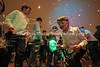 Bubble machine, Bat Mitzvah party, Sandton Shul  JOHANNESBURG, South Africa