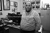 ZA 6670  Rabbi Moshe Silberhaft in his office, Beyachad  Johannesburg, South Africa