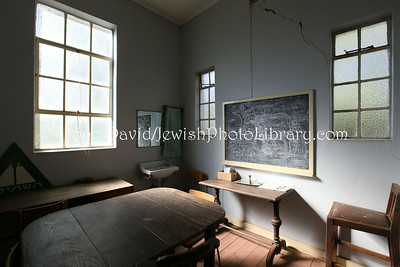 ZA 18424  Classroom, Hebrew Communal Hall (synagogue)  Warmbaths (Bela-Bela), South Africa