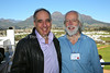 ZA 18872  Ambassador of Israel to South Africa Arthur Lenk (L) and Clive Lawton (Limmud founder:developer), Limmud Cape Town 2014  Stellenbosch, South Africa