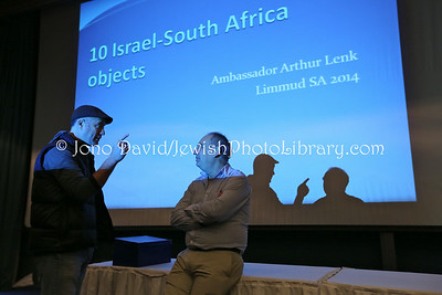 ZA 19081  Ambassador of Israel to South Africa Arthur Lenk presentation  Limmud Johannesburg 2014  Johannesburg, South Africa