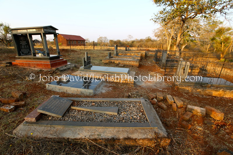 ZA 19318  Lemba Jewish Cemetery  Sweetwaters, Limpopo, South Africa
