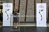 ZA 19427  JH&GC Director Tali Nates speaks at dedication ceremony, Johannesburg Holocaust & Genocide Centre  Johannesburg, South Africa