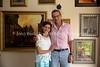 ZA 20016  Gavin and Megan Kotzen (farmer, Judaic artist, respectively)  Bethal, South Africa