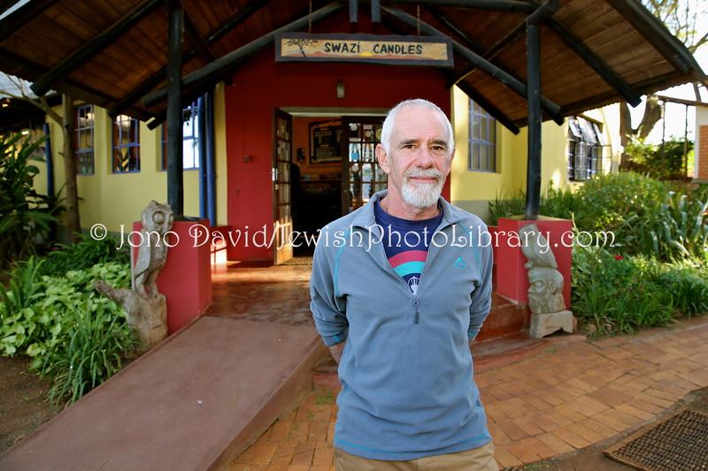 SZ 56  Tony Marshak, owner, Swazi Candles  Malkerns, Kingdom of Swaziland