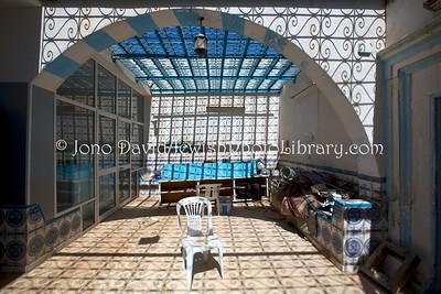 TN 1018  Synagogue Parenti  Hara Kebira, Djerba, Tunisia