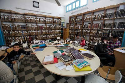 TN 993  Rabbi Shalom Jewish School  Hara Kebira, Djerba, Tunisia
