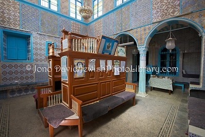 TN 1007  Synagogue Parenti  Hara Kebira, Djerba, Tunisia