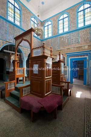 TN 998  Synagogue Parenti  Hara Kebira, Djerba, Tunisia