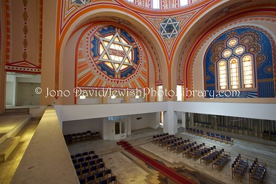 TN 485  Great (Grand) Synagogue  Tunis, Tunisia