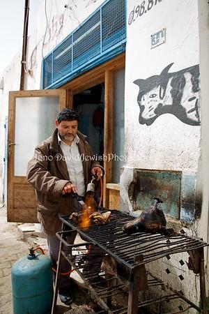 TN 886  Kosher butchery  Hara Kebira, Djerba, Tunisia