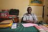 UG 165  Abayudaya Jews  Hamira Yahoya, Head Teacher, Hadassah Primary School, Namanyonyi Village, Mbale, Uganda