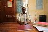 UG 164  Abayudaya Jews  Kintu Aaron, School Director, Hadassah Primary School, Namanyonyi Village, Mbale, Uganda