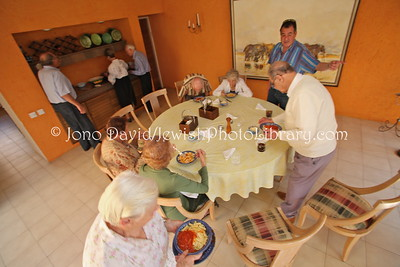 Luncheon at home of Ronny Zlatter, CEO, Security Mills textiles  BULAWAYO, Zimbabwe
