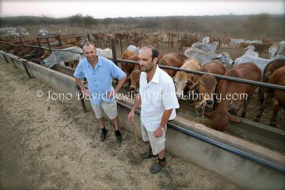 Paul (R) and Grant Pilossof  Ruvale Farm  BULAWAYO, Zimbabwe