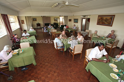 Dining Hall, Savyon Lodge (retirement home)  BULAWAYO, Zimbabwe