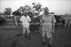 Paul (L) and Grant Pilossof, Ruvale Farm  BULAWAYO, Zimbabwe