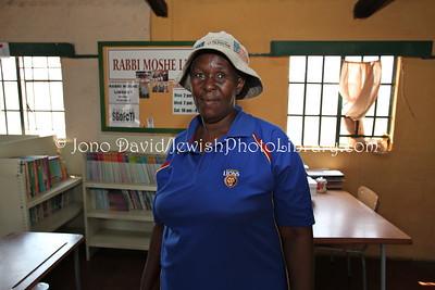 Patricia, Manager, Sgofiti (and Rabbi Moshe Library)  BULAWAYO, Zimbabwe