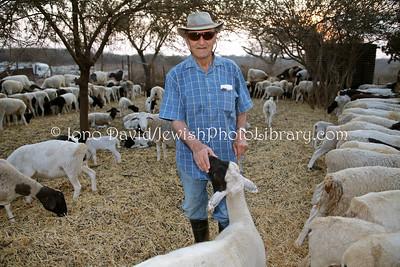Rubin Pilossof, owner, Ruvale Farm  BULAWAYO, Zimbabwe