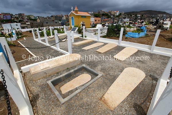 CAPE VERDE, Santiago, Praia. Jewish Cemetery (at Varzea Municipal Cemetery) (8.2015)