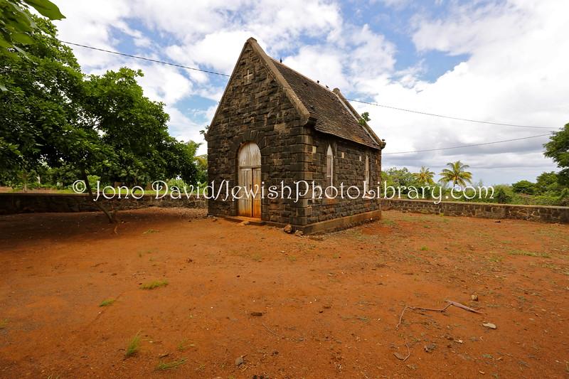 MU 461  Jewish Museum (future location)  St  Martins Jewish Cemetery, Mauritius