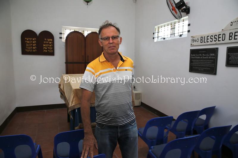 MU 48  Owen Griffiths, President, Island Hebrew Congregation Mauritius