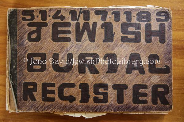 MAURITIUS, St. Martins. Jewish Burial Register (at St. Martins Jewish cemetery office) (2.2013)