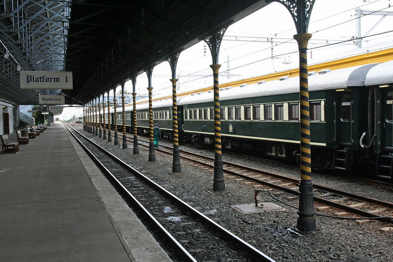The Elegant Rovos Rail Cars