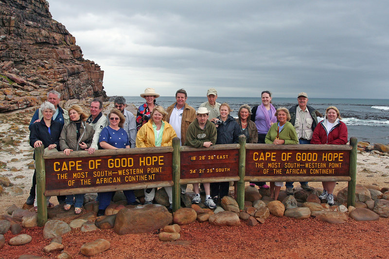 Part of the Group at Cape of Good Hope
