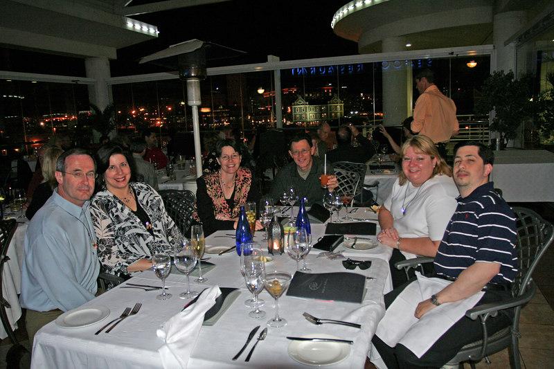 Group Enjoying Dinner