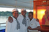 The crew on the Zambezi Princess